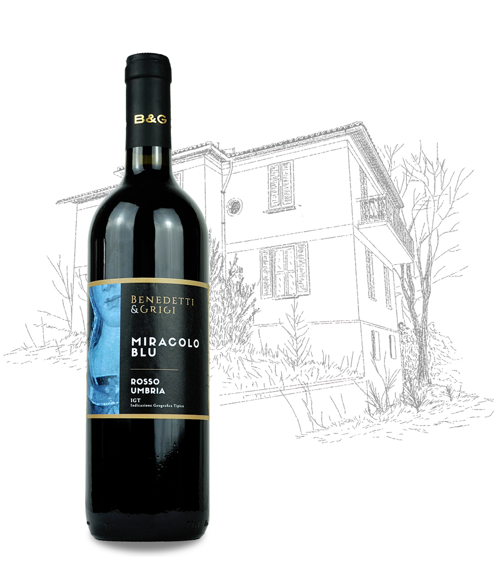 Miracolo Blu Rosso Umbria IGT